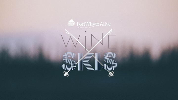 Wine + Skis // FortWhyte Alive